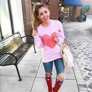 Sweaters - Heart sweatshirt